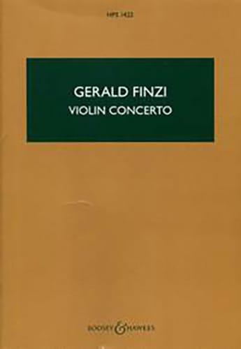 Concerto Pour Violon - Gerald Finzi - Partition - laflutedepan.com