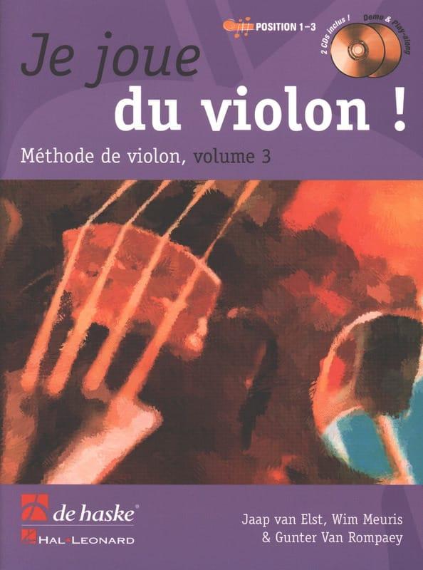 Je Joue du Violon - Volume 3 - DE HASKE - Partition - laflutedepan.com