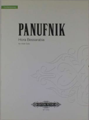 Hora Bessarabia - Roxanna Panufnik - Partition - laflutedepan.com