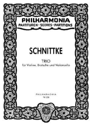 Trio 1985 - Partitur SCHNITTKE Partition Petit format - laflutedepan