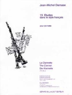 15 Etudes dans le style francais Jean-Michel Damase laflutedepan