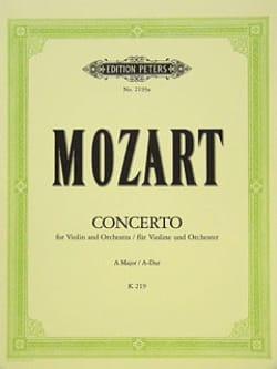 Concerto Violon n° 5 la majeur KV 219 - MOZART - laflutedepan.com