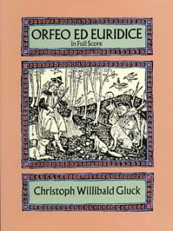 Orfeo & Euridice - Full Score - GLUCK - Partition - laflutedepan.com