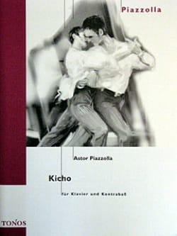 Kicho Astor Piazzolla Partition Contrebasse - laflutedepan