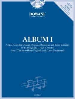 Album 1 Pour Flûte à Bec Soprano Partition laflutedepan