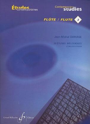 20 Etudes Melodiques Vol. 3 - Flûte Jean-Michel Damase laflutedepan