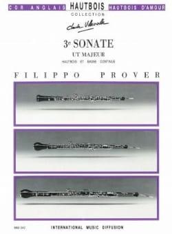 3e Sonate en ré majeur - Hautbois et basse continue - laflutedepan.com