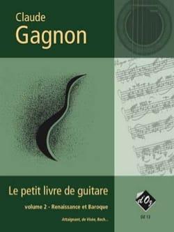 Le Petit Livre de Guitare Vol. 2 Claude Gagnon Partition laflutedepan