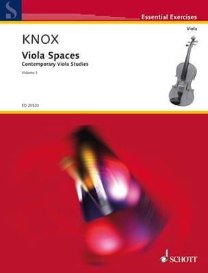 Viola Spaces Volume 1 Garth Knox Partition Alto - laflutedepan