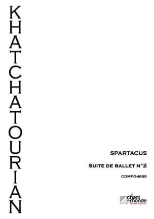Spartacus, suite d'orchestre n°2 KHATCHATURIAN Partition laflutedepan
