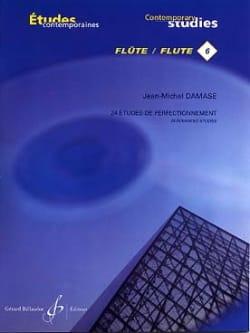 24 Etudes de perfectionnement - Flûte Jean-Michel Damase laflutedepan