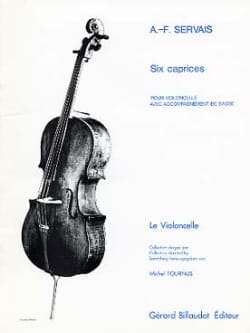 6 Caprices op. 11 Adrien-François Servais Partition laflutedepan