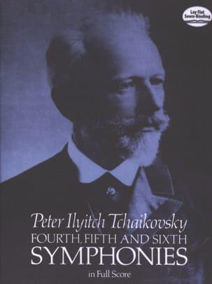 Symphonies n° 4, 5 et 6 - Full Score TCHAIKOVSKY laflutedepan