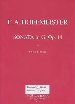 Sonata in G major op. 14 - Flute piano HOFFMEISTER laflutedepan