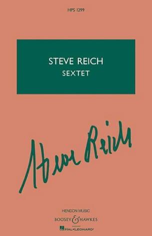 Sextet - Studienpartitur Steve Reich Partition laflutedepan