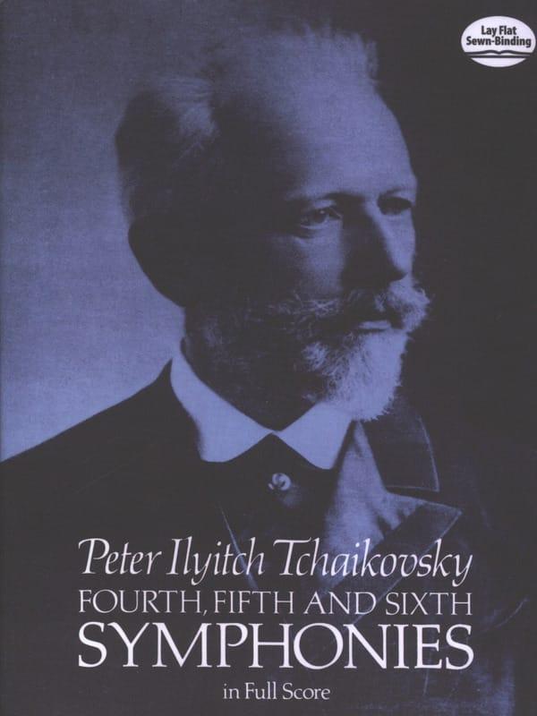 Symphonies n° 4, 5 et 6 - Full Score - TCHAIKOVSKY - laflutedepan.com