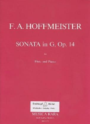 Sonata in G major op. 14 - Flute piano - laflutedepan.com