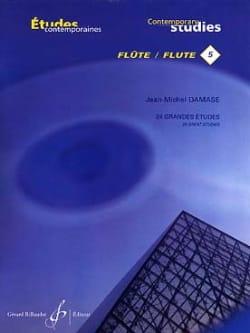 24 Grandes études - Flûte Jean-Michel Damase Partition laflutedepan
