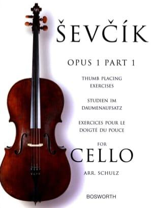 Etudes Opus 1 / Partie 1 - Violoncelle - laflutedepan.com