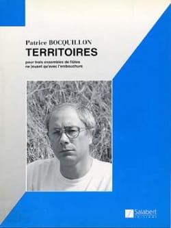 Territoires - 3 Flûtes ou Ensemble Patrice Bocquillon laflutedepan