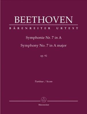 Symphonie Nr. 7 A-Dur op. 92 BEETHOVEN Partition laflutedepan