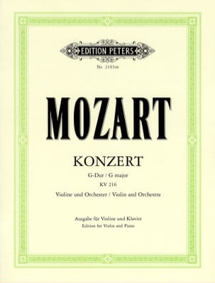 Concerto Violon sol majeur KV 216 Oistrach MOZART laflutedepan