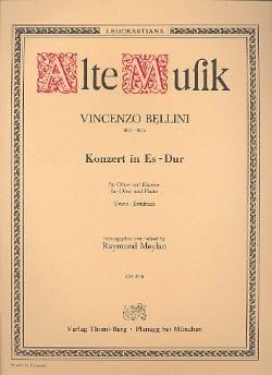 Konzert In Es-Dur - Oboe Klavier BELLINI Partition laflutedepan