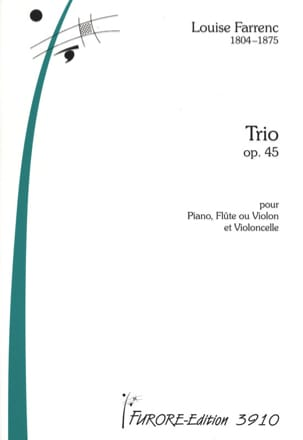 Trio Op. 45 Louise Farrenc Partition Trios - laflutedepan