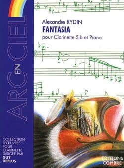 Fantasia Alexandre Rydin Partition Clarinette - laflutedepan