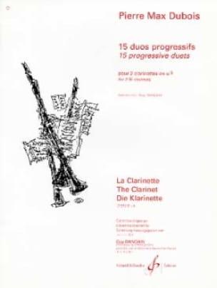15 Duos progressifs - Pierre-Max Dubois - laflutedepan.com