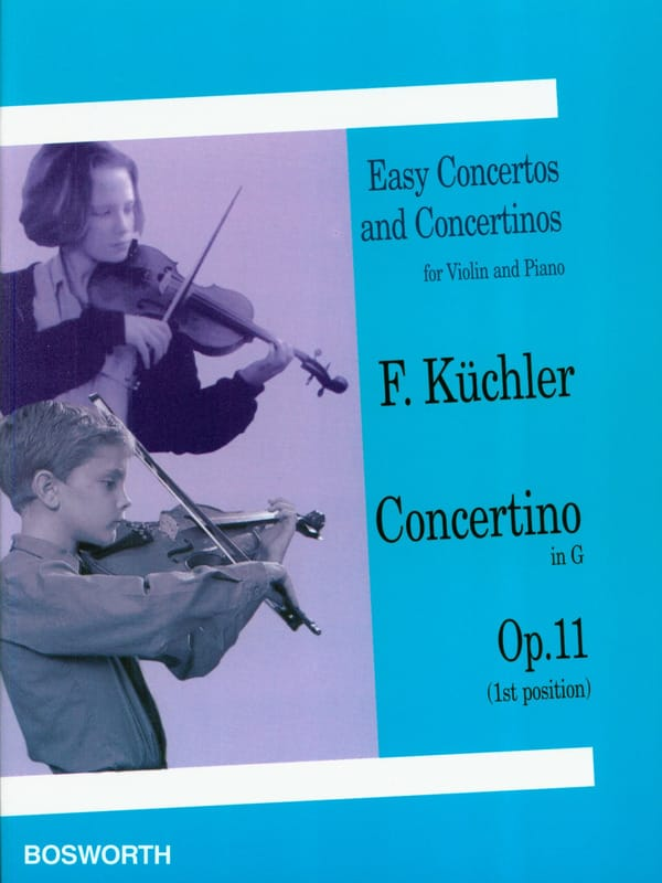 Concertino en Sol Op. 11 - Ferdinand Küchler - laflutedepan.com