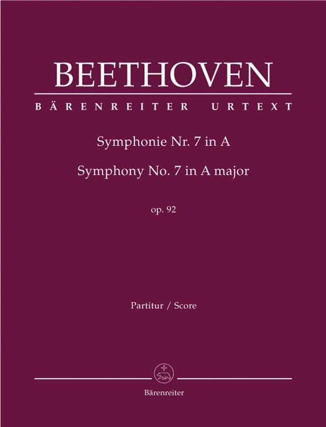 Symphonie Nr. 7 A-Dur op. 92 - BEETHOVEN - laflutedepan.com