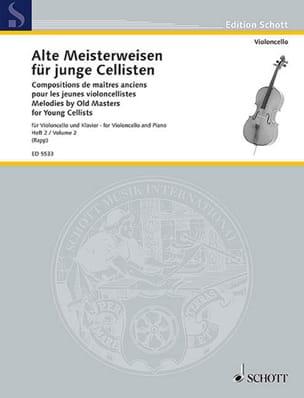 Alte Meisterweisen für junge Cellisten Bd. 2 Eugen Rapp laflutedepan