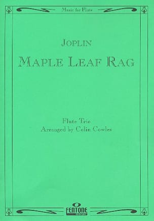 Maple Leaf Rag - Flute Trio JOPLIN Partition laflutedepan