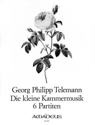 Die Kleine Kammermusik - 6 Partitas TELEMANN Partition laflutedepan