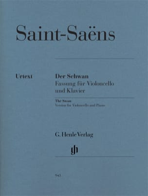 Camille Saint-Saens - The Swan - Partition - di-arezzo.co.uk