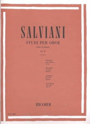 Studi Per Oboe Volume 2 Clemente Salviani Partition laflutedepan