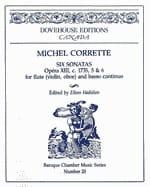 6 Sonatas op. 13 n° 5-6 - Flute Bc CORRETTE Partition laflutedepan