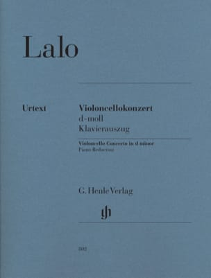Concerto En Ré Min. Pour Violoncelle LALO Partition laflutedepan