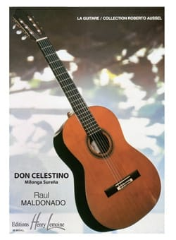 Don Celestino Milonga Surena Raul Maldonado Partition laflutedepan