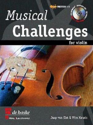 Musical Challenges For Violon Wim Meuris Partition laflutedepan