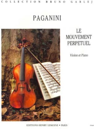 Mouvement Perpétuel op. 11 n° 6 - PAGANINI - laflutedepan.com