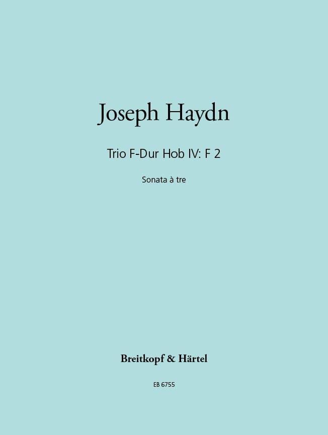 Trio F-Dur Hob 4 : F2 -Gitarre Violine Cello - Stimmen - laflutedepan.com