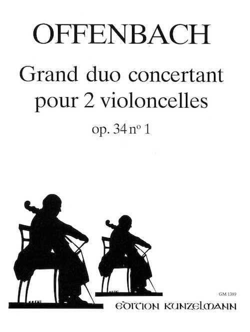 Grand duo concertant op. 34 n° 1 - OFFENBACH - laflutedepan.com