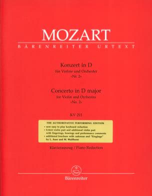 Concerto pour Violon n° 2 ré majeur KV 211 MOZART laflutedepan