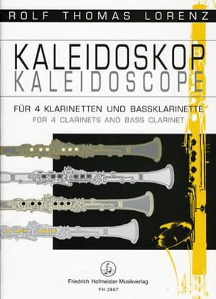 Kaleidoscope - Rolf Thomas Lorenz - Partition - laflutedepan.com