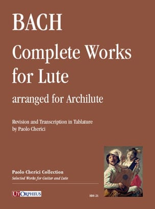 Oeuvres pour Luth - Archiluth BACH Partition Luth - laflutedepan