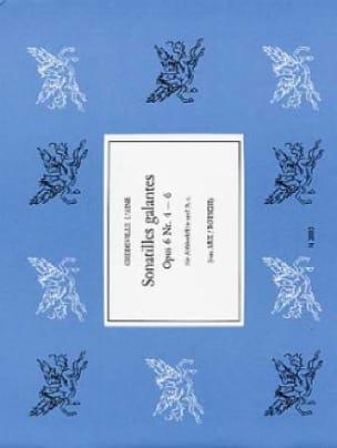 Sonatilles galantes op. 6 n° 4-6 - laflutedepan.com