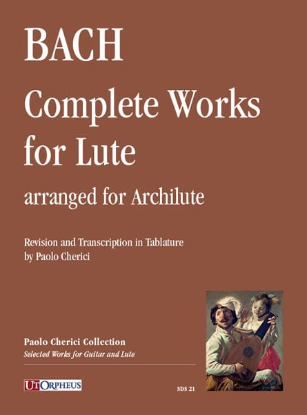 Oeuvres pour Luth - Archiluth - BACH - Partition - laflutedepan.com