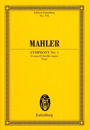 Symphonie N°1 en Ré Majeur Titan - Conducteur MAHLER laflutedepan